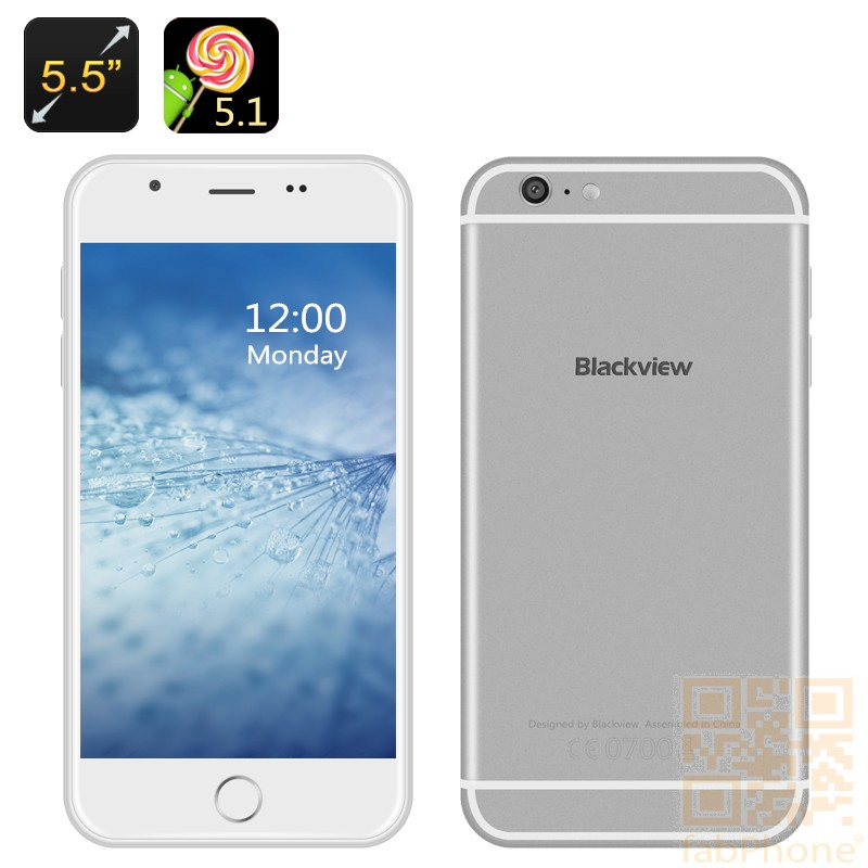 Blackview Ultra PLUS, 5.5 Zoll Smartphone, HD OGS Display, QuadCore mit  2GB Ram, 16GB Rom, Android 5.1
