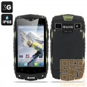 MANN ZUG 3 Outdoor Handy, IP68 wasserdicht, staubdicht, schockresistent, Android 4.3, 4 Zoll Display, Snapdragon QuadCore mit 1GB Ram, Militär-Grün
