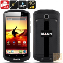 MANN ZUG S5 Outdoor Handy,  IP67 wasserdicht, staubdicht, schockresistent, Android 4.4, 5 Zoll HD Display, 4G, Qualcomm QuadCore mit 1GB Ram, Gold