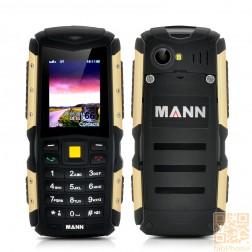 MANN ZUG S Outdoor Handy, IP67 wasserdicht, staubdicht, schockresistent, 2570mAh Akku in Gold