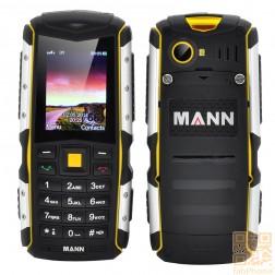 MANN ZUG S Outdoor Handy, IP67 wasserdicht, staubdicht, schockresistent, 2570mAh Akku