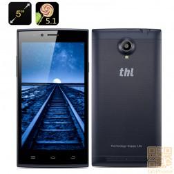 THL T6C  5 Zoll Smartphone, Quad Core CPU mit 1GB RAM, 5 Zoll IPS Display, Dual SIM  in Tiefblau