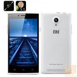 THL T6C  5 Zoll Smartphone, Quad Core CPU mit 1GB RAM, 5 Zoll IPS Display, Dual SIM  in Weiß