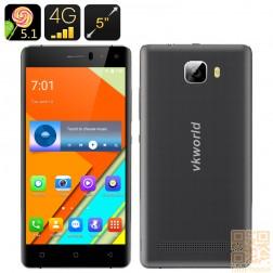 VKWorld T3 -  5.0 Zoll HD Display, Android 5.1,  LTE,  2 GB Ram, 16 GB Speicher in Schwarz