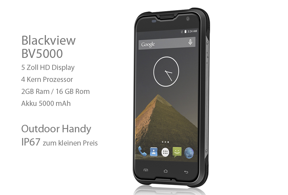 Blackview BV5000 Outdoor Handy